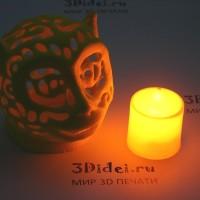 Настольный светильник (LED-свеча) Обезьяна