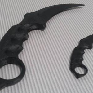 Нож Карамбит из игры CS GO
